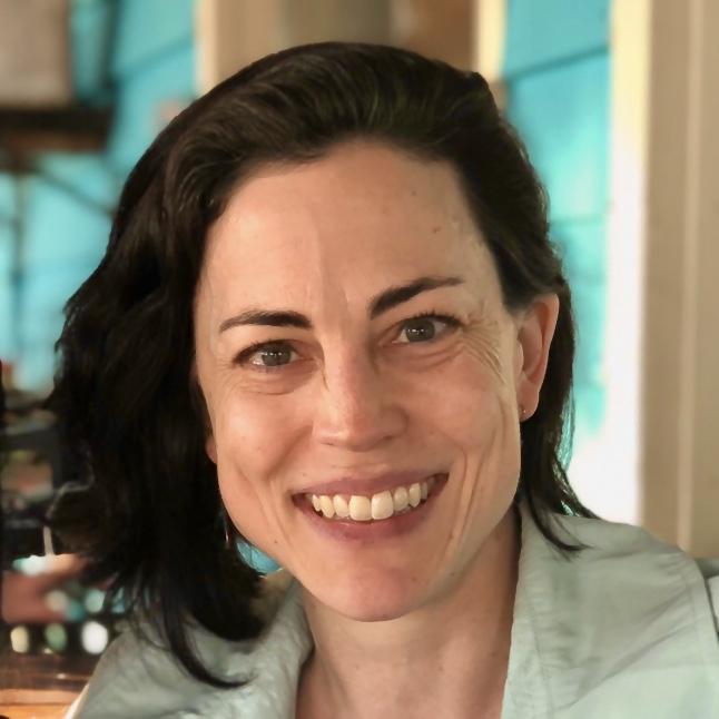 Amanda Lanier at a conference in Charleston
