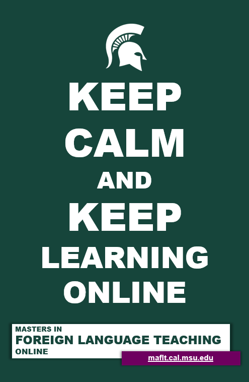Keep Calm and Keep Learning Online image