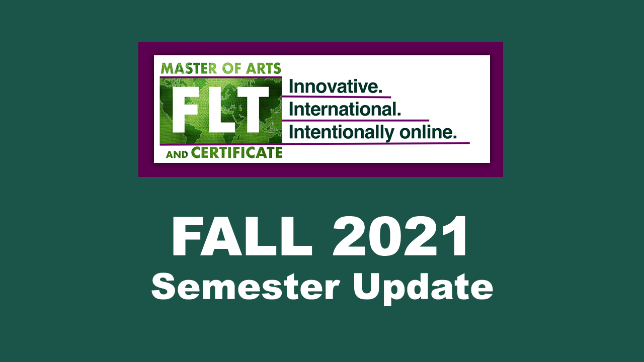 Fall 2021 – Courses Offered